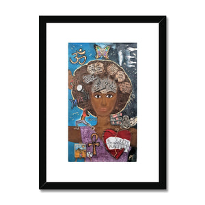Perception Framed and Mounted Framed & Mounted Print
