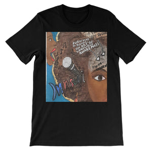 """Sing Thy Truth""  All People Short Sleeve T-Shirt - Amja Art"