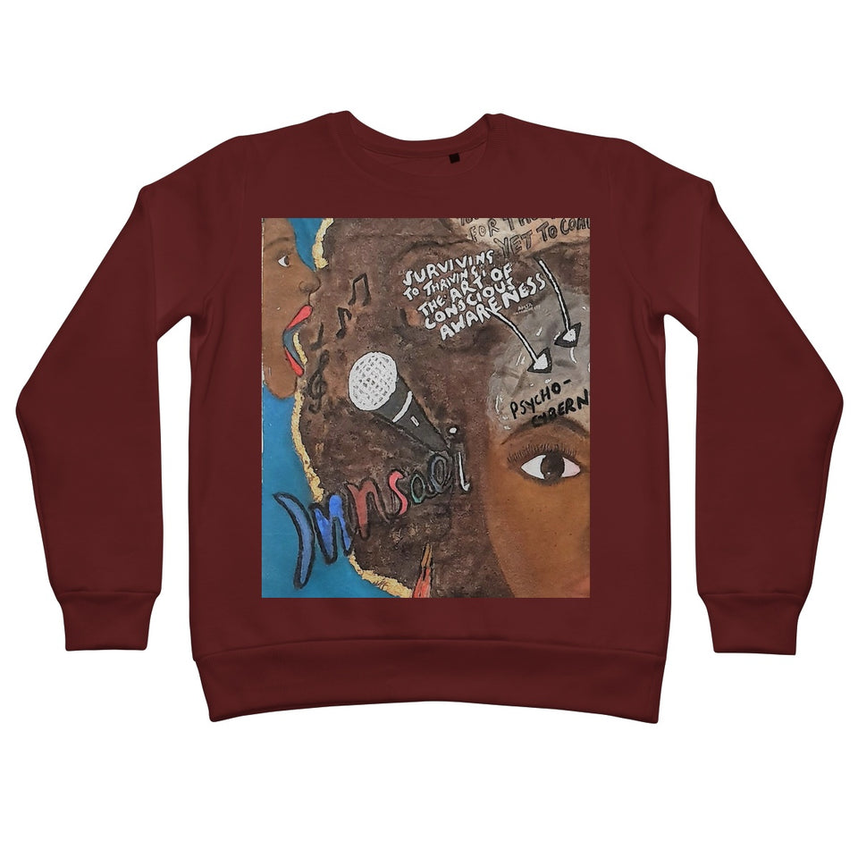 """Sing Thy Truth"" All People Sweatshirt - Amja Art"