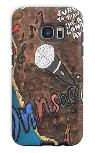 """Sing Thy Truth"" Phone Case - Amja Art"