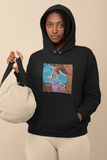 """Warrior 1"" (YOGA) College Hoodie"