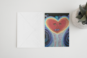 A Love Out of This World Greeting Card