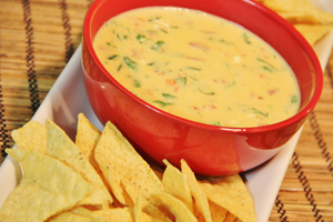 Chile con Queso with Clint's Salsa