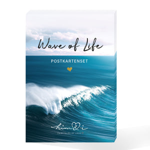 "15er Postkarten Set ""Wave of Life"""