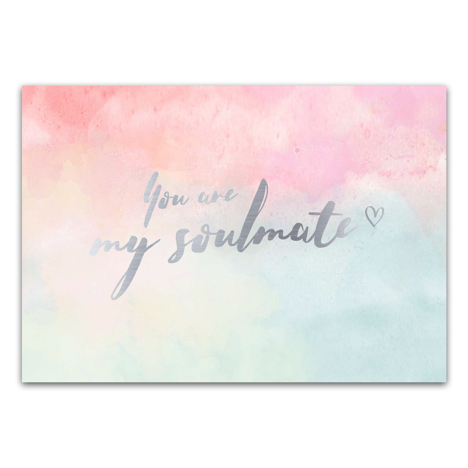 "Postkarte ""You are my soulmate"""