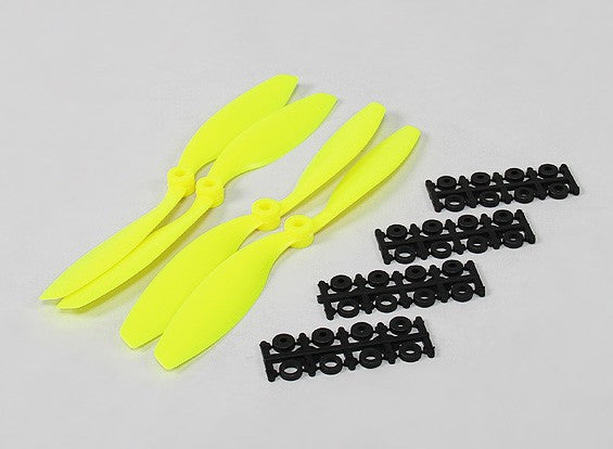 8045 SF Props 2pc CW 2 pc CCW Rotation (Yellow)