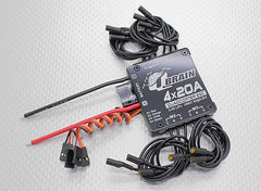 QBrain 4 x 20A Brushless Quadcopter ESC 2-4S 3A SBEC