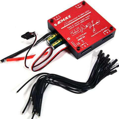 EMAX Multirotor 4IN1 ESC(4*25A)
