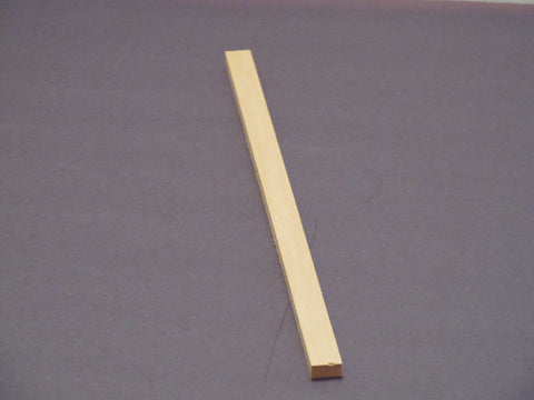 "Basswood    1/2"" x 1/4"" x 12"" long (one piece)"