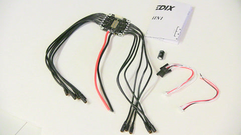 Spedix 4in1 DShot 600 BLHeli_S 30A ESC (with 200mm wires)