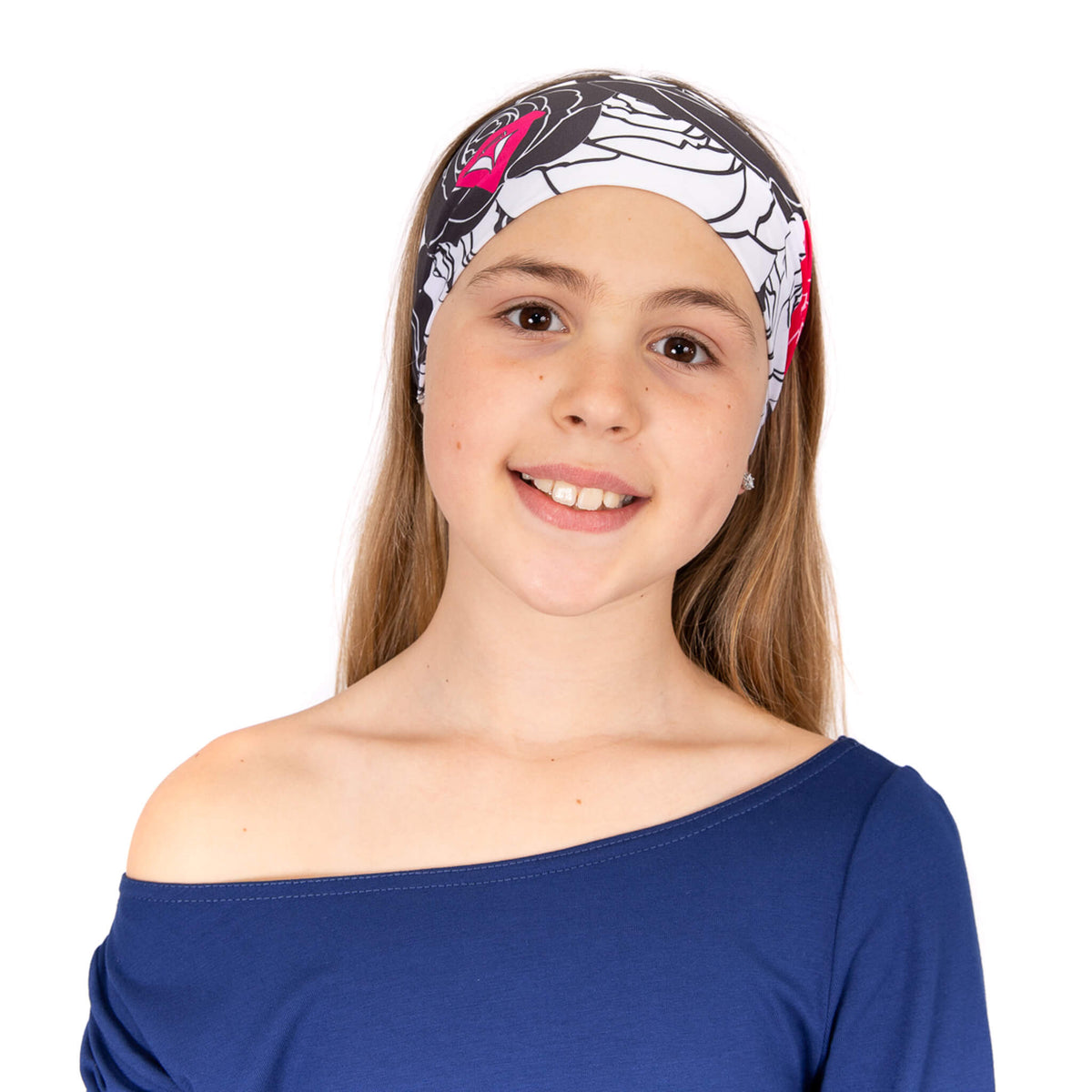 Crossed headband for children
