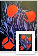 'Orange Blossom' Limited Edition Giclee Art Print