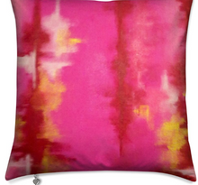Load image into Gallery viewer, 'Pink Ripple' Luxury Designer Cushion