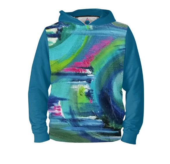 ' Forest Folly' Men's Designer Hoodie