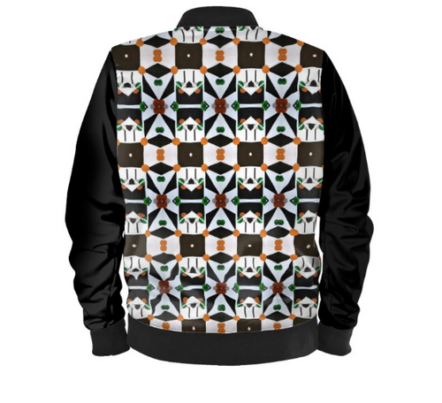 'Geometric Connect 'Men's Bomber Jacket