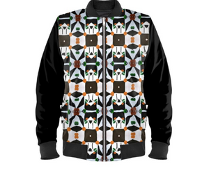 'Geo Matrix 'Men's Bomber Jacket