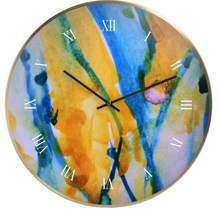 Load image into Gallery viewer, 'Gaia's Wish' Wall Clock