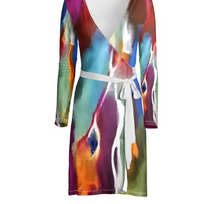 Load image into Gallery viewer, 'Nora' Women's Wrap Dress