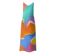 Load image into Gallery viewer, 'Harmony' Woman's Designer Slip Dress.