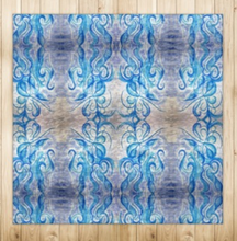 Load image into Gallery viewer, 'Blue Sun' Luxury Handmade Rugs
