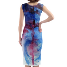 Load image into Gallery viewer, 'Belle' Women's Designer Bodycon Dress