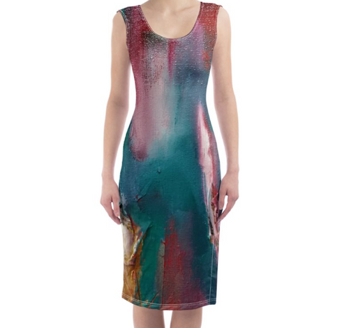 'Roma' Women's Designer Bodycon Dress