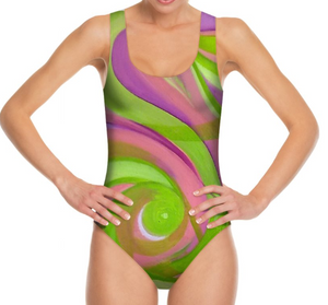 'Something In The Air' Woman's Designer Swimwear