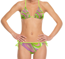 Load image into Gallery viewer, 'Something In The Air' Woman's Designer Bikini