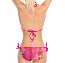 Load image into Gallery viewer, 'Raspberry Ripple' Women's Designer Bikini
