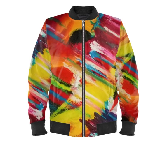 'Cosmic Soul' Men's Bomber Jacket