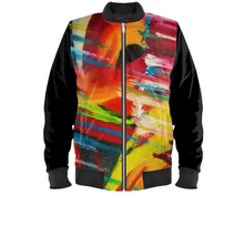Load image into Gallery viewer, 'Cosmic Soul' Mens Designer Bomber Jacket