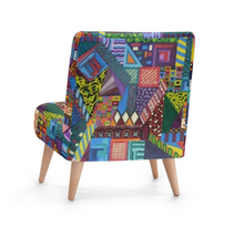 Load image into Gallery viewer, 'Barcelona'  Designer Occasion Chair