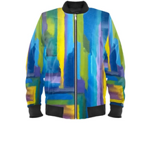 Load image into Gallery viewer, 'Serenity' Mens Designer Bomber Jacket
