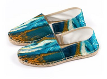 Load image into Gallery viewer, 'Blue Heaven' Men's Espadrilles