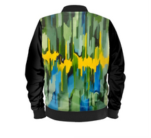 Load image into Gallery viewer, 'The Emerald Buzz' Men's Designer Bomber Jacket