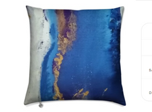 Load image into Gallery viewer, 'Mood Blue' Luxury Designer Cushions