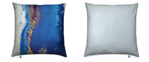 'Mood Blue' Luxury Designer Cushions