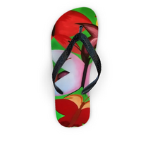 Load image into Gallery viewer, 'Butterfly Babe' Women's Designer Flip Flop