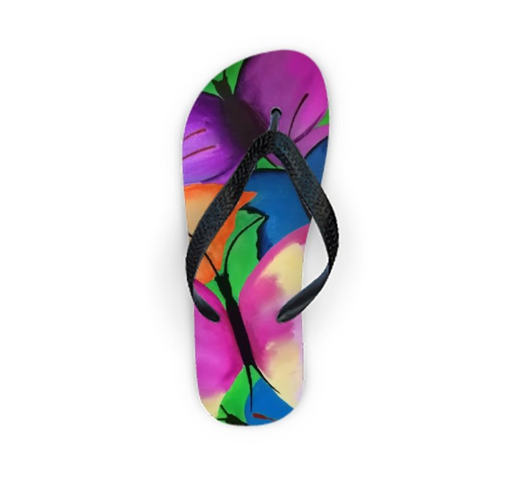 'Butterfly Dreams' Woman' Designer Flip Flop