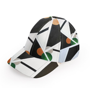 'Geometric Connect' Unisex Baseball Cap
