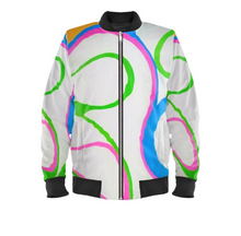 Load image into Gallery viewer, 'Harmony' Woman's Designer Bomber Jacket