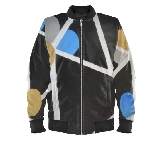 'God Gene' Men's Designer Bomber Jacket