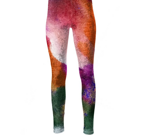 'Colour Me Up' High Waisted Women's Leggings