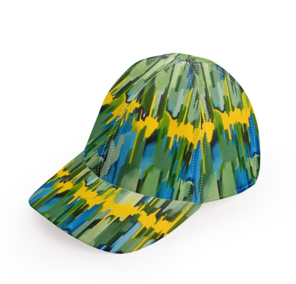 'The Emerald Buzz'Unisex Designer Baseball Cap
