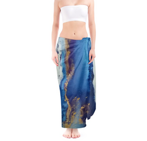 'Blue Heaven' Women's Designer Sarong