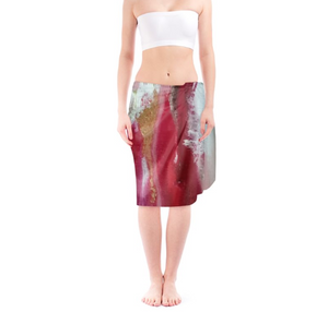 'Red' Heaven' Women's Designer Sarong