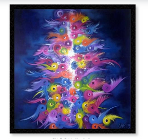 'Shamanic Dancing'  Limited Edition Giclee Art Print