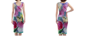 'Mother's Love' Woman's Designer Bodycon Dress