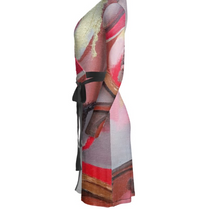 Load image into Gallery viewer, 'Deep Into You' Women's Wrap Dress