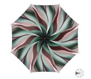 'Earth Grid' Unique Luxury Umbrella